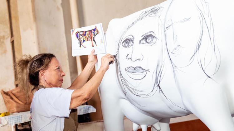 Além dos selecionados, a exposição também conta com convidados ilustres, como os artistas visuais Bel Borba, Maria Adair, Sista Katia e Alberto Pitta - Foto: Ulisses Dumas   Divulgação