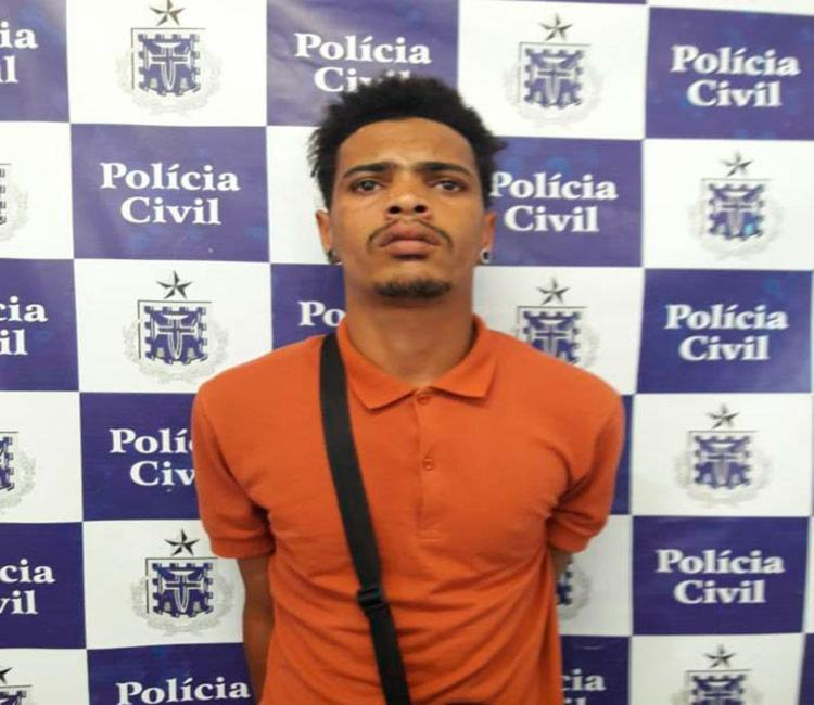 Wilson será encaminhado ao sistema prisional - Foto: Divulgação   Polícia Civil
