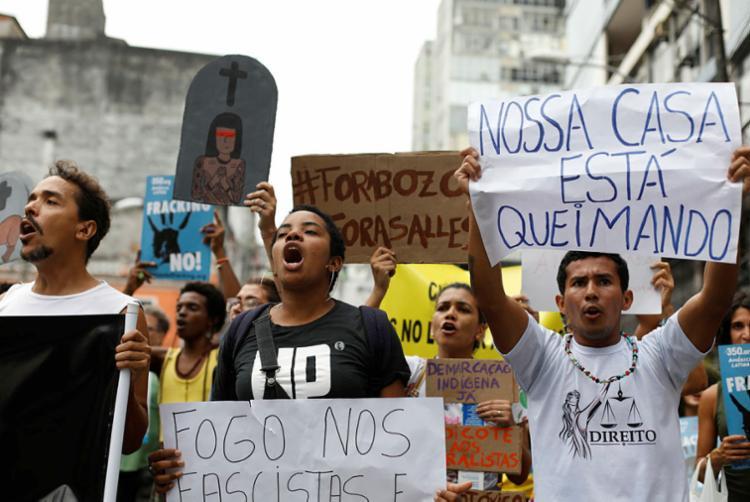Aquecimento global tem sido tema de protestos pelo mundo - Foto: Raul Spinassé | Ag. A TARDE