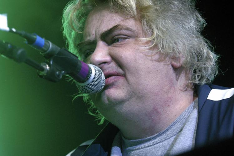 Daniel Johnston teve um ataque cardíaco - Foto: Jana Birchum l AFP