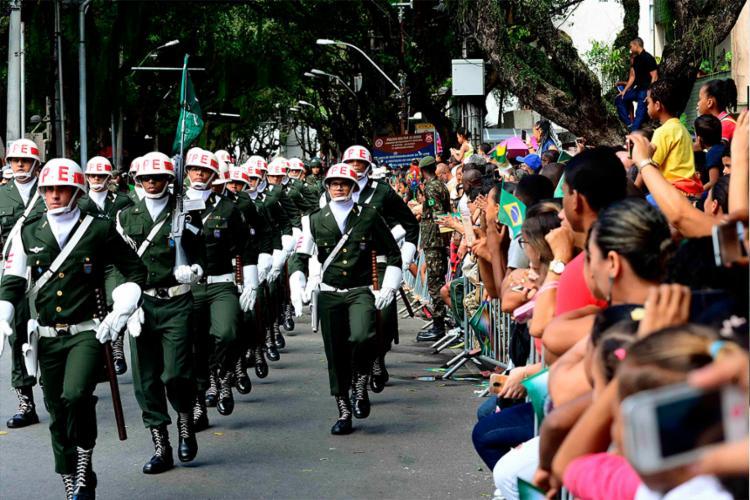 Devido aos festejos, o trânsito será modificado em algumas vias da região do centro da cidade - Foto: Valter Pontes | Secom | Divulgação