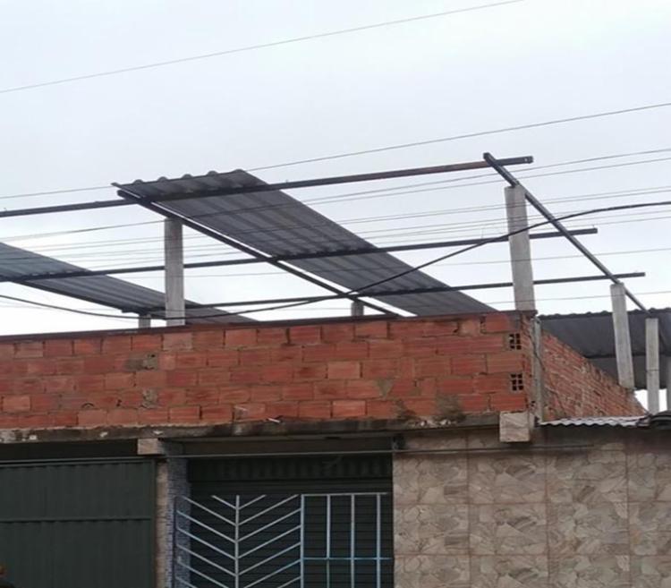 Segundo a Codesal, a ação dos fortes ventos foi o motivo do prejuízo - Foto: Divulgação | Codesal