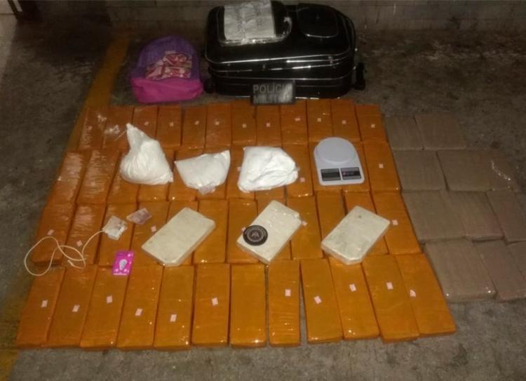 Drogas eram comercializadas nos bairros da Liberdade e Boca do Rio - Foto: Divulgação | SSP-BA