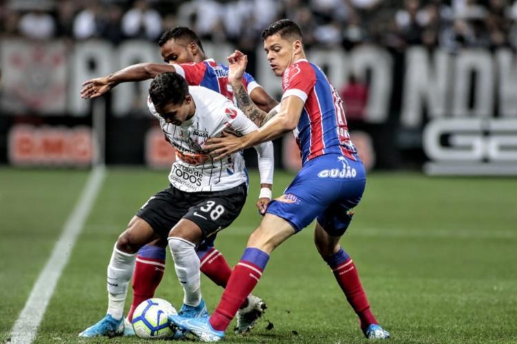 Resultado deixa o Bahia a dois pontos do G-6 - Foto: Rodrigo Coca | Agência Corinthians