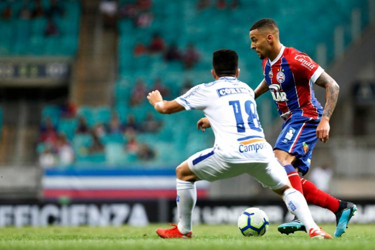 No início do segundo turno, o Tricolor fará quatro partidas como mandante - Foto: Felipe Oliveira | EC Bahia