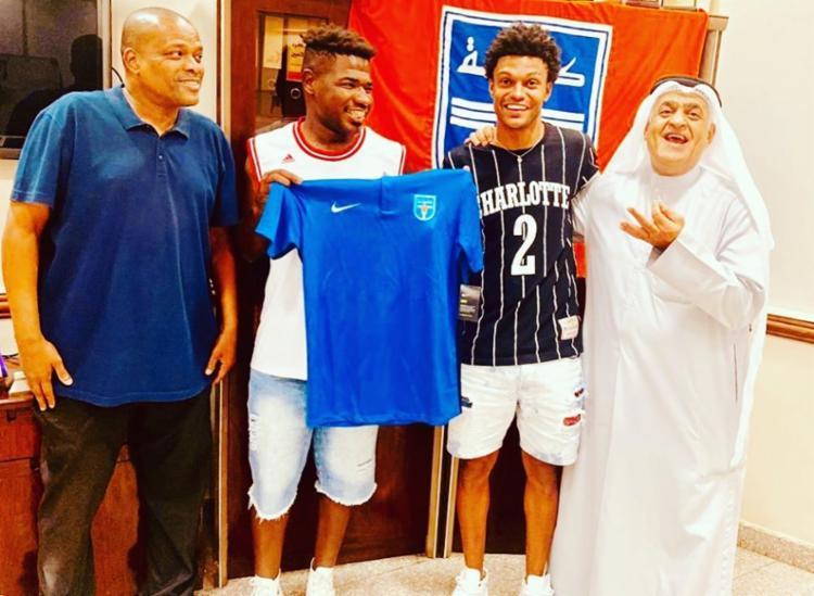 Feijão chegou no futebol do Kuwait em agosto deste ano - Foto: Reprodução | Instagram
