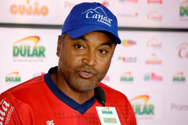 Roger ainda comentou sobre as reclamações que os treinadores vem fazendo com relação as datas Fifa - Foto: Felipe Oliveira   EC Bahia