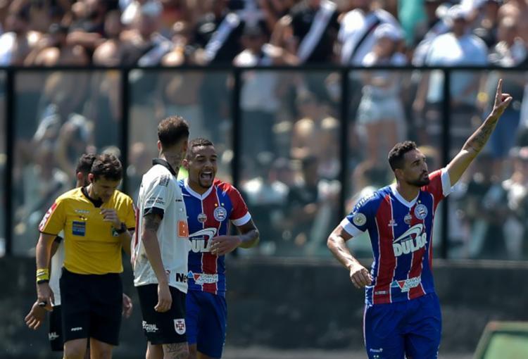 Gilberto marcou um golaço e fechou o placar para o Tricolor - Foto: Thiago Ribeiro   AGIF