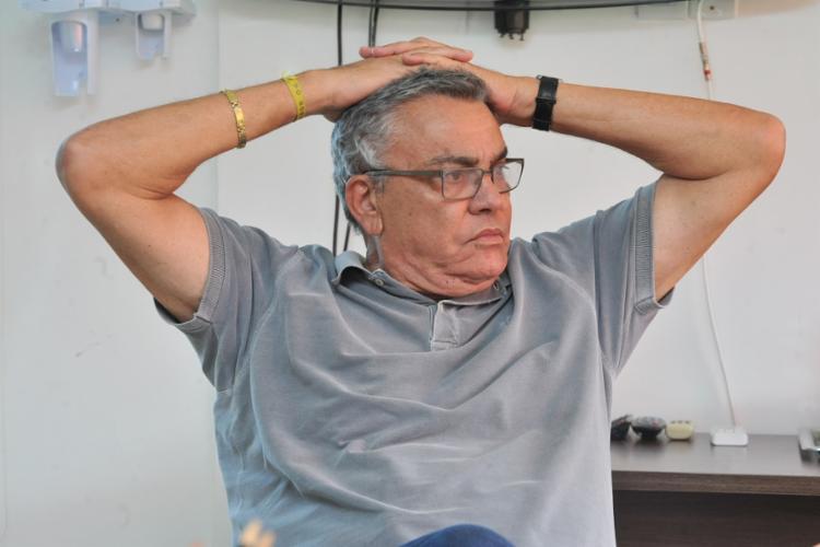 Paulo Carneiro criticou parte da torcida que se manifestou após derrota para o Bragantino - Foto: Felipe Iruatã | Ag. A TARDE