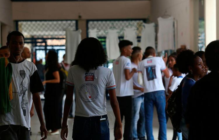 Projeto será realizado nas redes estaduais de ensino - Foto: Joá Souza | Ag. A TARDE