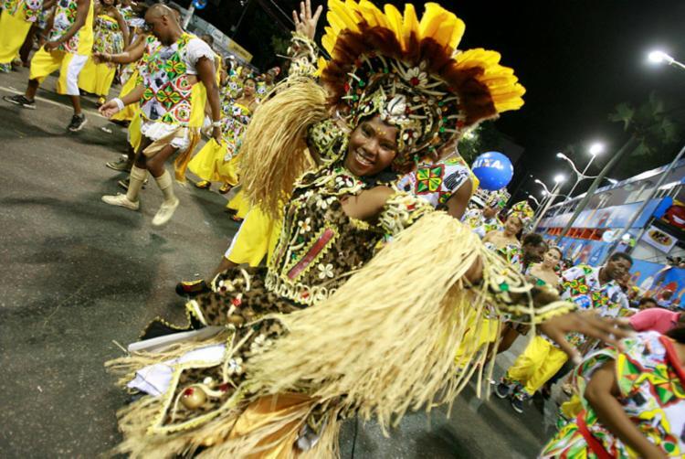 Bloco afro Malê Debalê é uma das atrações do 'EPA' - Foto: Joá Souza | Ag. A TARDE