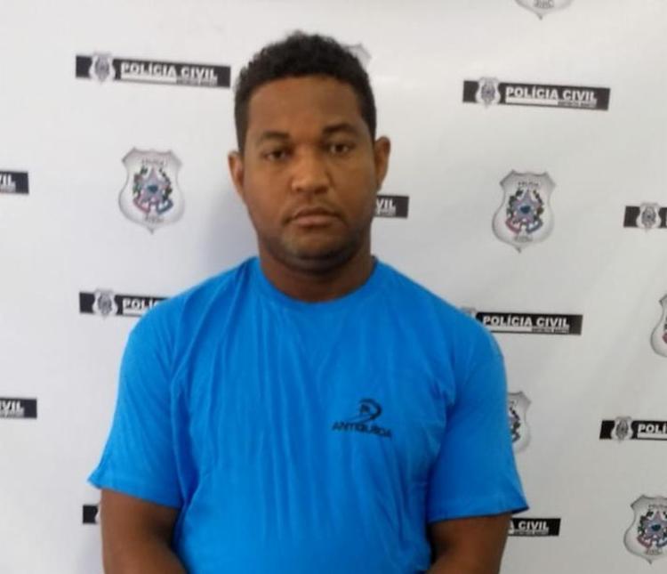 O suspeito fugiu para a cidade de Aracruz, no Espírito Santo, onde foi localizado e preso - Foto: Divulgação | Polícia Civil