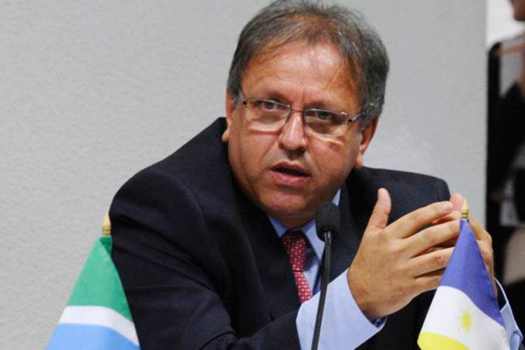 Ele é investigado em uma operação sobre corrupção - Foto: Edilson Rodrigues | Agência Senado
