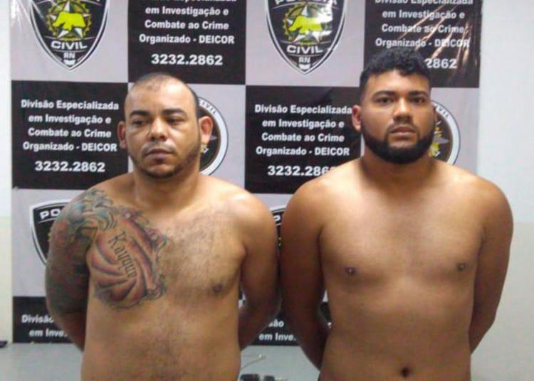 Os suspeitos já tem passagens por tráfico de drogas, roubo e homicídios - Foto: Divulgação