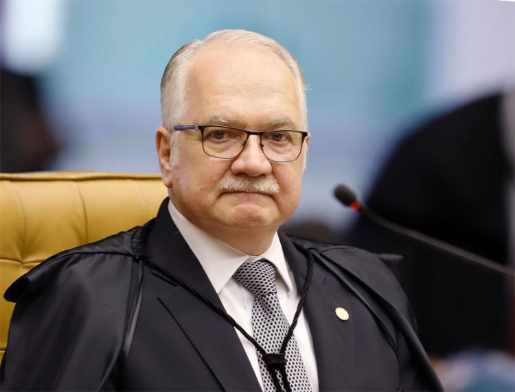 Único a votar, o relator da operação no Supremo, descartou prejuízo para o réu no caso envolvendo a ordem das alegações finais - Foto: Rosinei Coutinho l SCO l STF