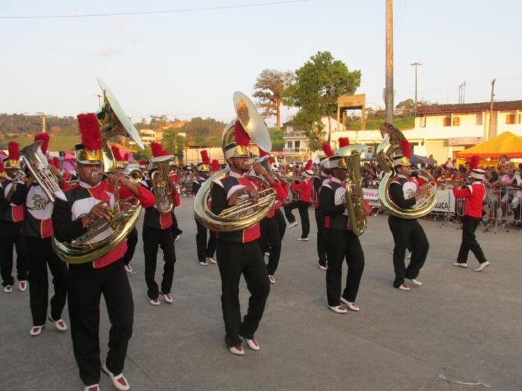 Além das fanfarras, atrações da cultura local também farão parte da programação - Foto: Divulgação