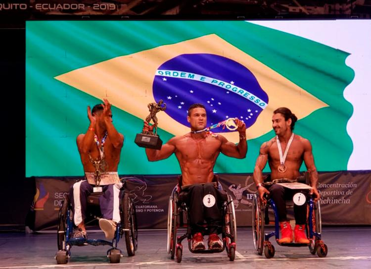 Paratleta agora representa novamente o Brasil no Mundial, na Espanha, em dezembro - Foto: Divulgação | SSP-BA
