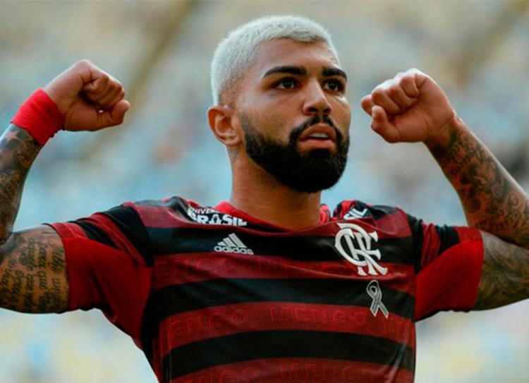 Gabriel é artilheiro do Brasileirão com 16 gols - Foto: Reprodução | Twitter