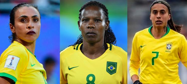 Brasileiras estão entre as 55 jogadoras que concorrem a uma vaga na seleção do ano - Foto: Divulgação