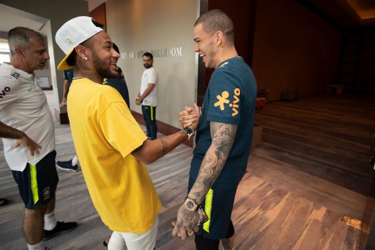 Neymar está de volta à seleção depois de ter ficado fora da última Copa América - Foto: Lucas Figueiredo | CBF