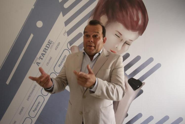 Geraldo afirma que Bruno Reis é o candidato natural para a cabeça de chapa - Foto: Luciano da Mata | Ag. A TARDE