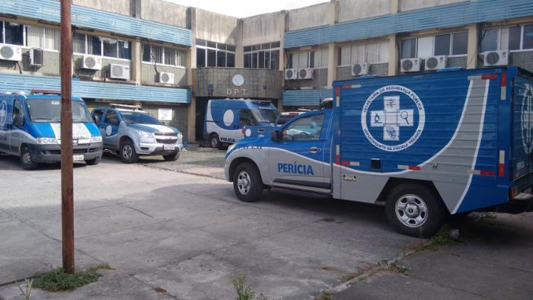 O Departamento de Polícia Técnica (DPT) esteve no local e efetuou o levantamento cadavérico da vítima - Foto: Reprodução
