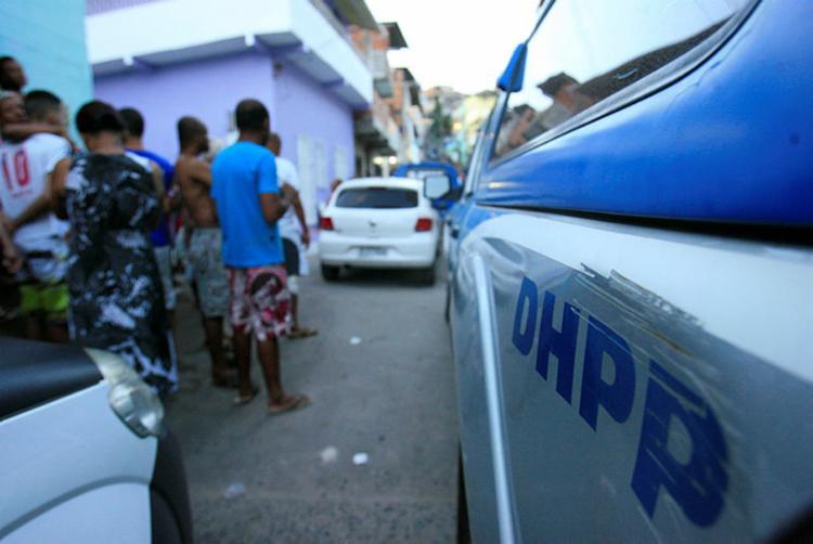 O crime aconteceu na localidade conhecida como Pela Porco - Foto: Joá Souza | Ag. A TARDE