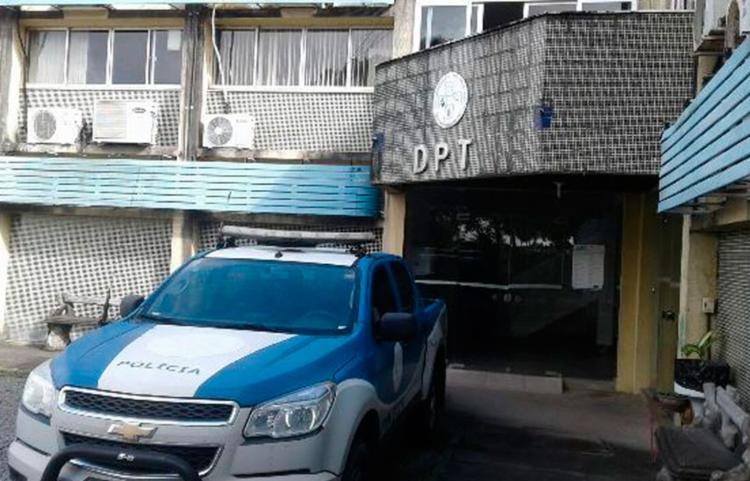 Corpo foi encaminhado para o DPT - Foto: Aldo Matos | Acorda Cidade
