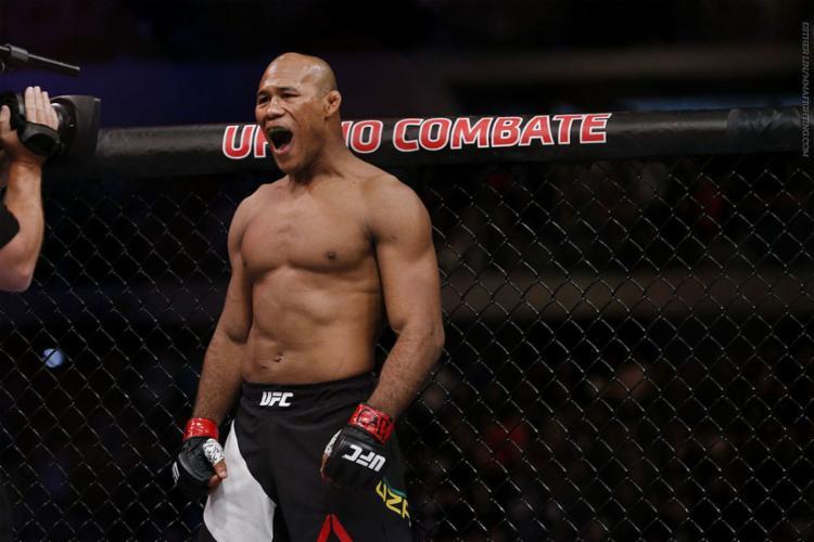 O lutador brasileiro fará sua estreia na categoria meio pesado - Foto: Reprodução l UFC