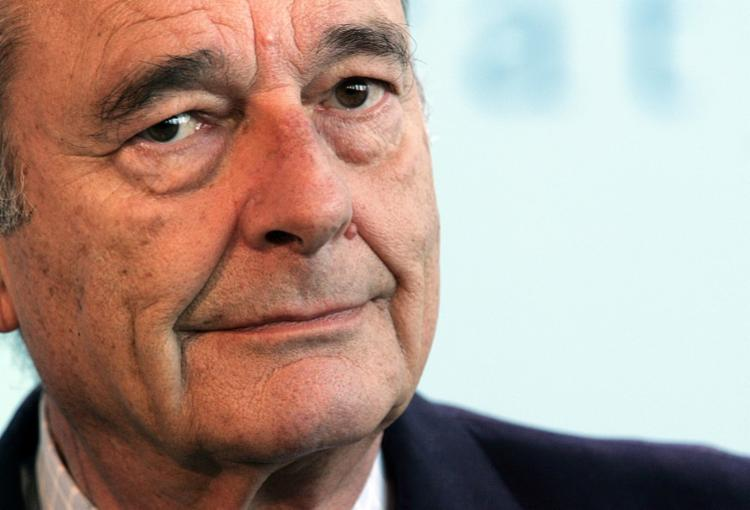 Chirac foi presidente da França entre 1995 e 2007 - Foto: Patrick Kovarik | AFP