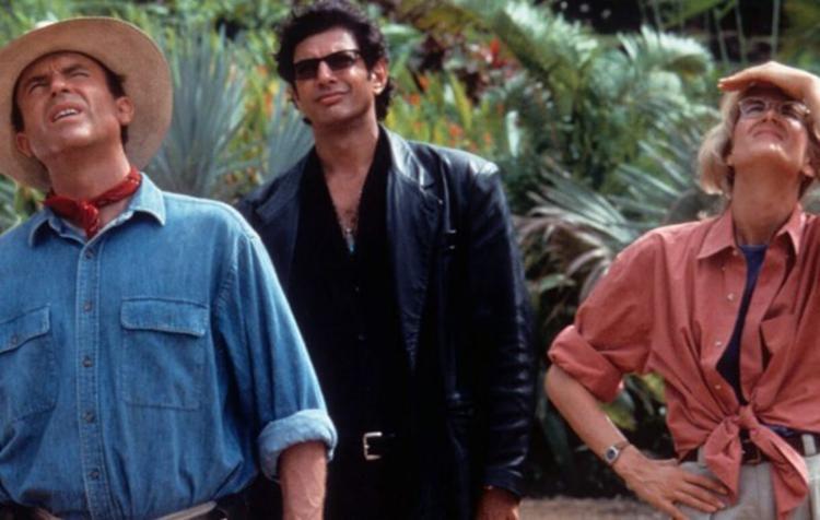 Sam Neill, Jeff Goldblum e Laura Dern retornam ao mundo dos dinossauros - Foto: Divulgação