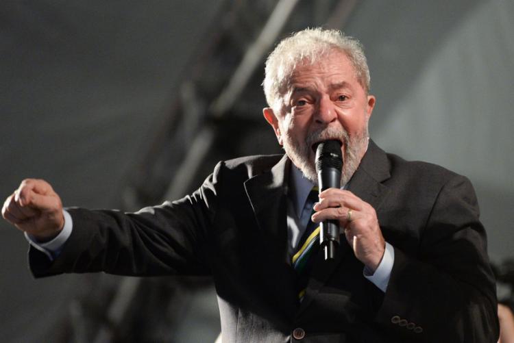O texto reforça o discurso que Lula adotou desde que foi preso de não aceitar progressão de regime - Foto: Suellen Lima   ESTADÃO CONTEÚDO