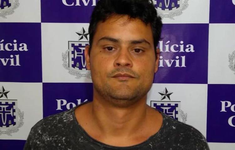 Suspeito foi autuado em flagrante com base na Lei Maria da Penha - Foto: Divulgação | Polícia Civil