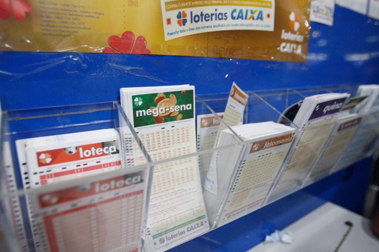 A aposta mais barata, com seis números, custa R$ 3,50 - Foto: Luciano Carcará   Ag. A TARDE