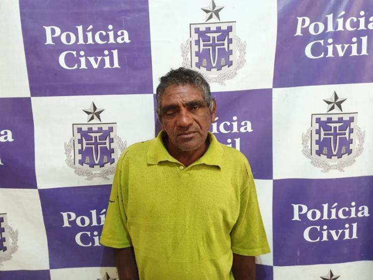 Edmar foi levado para a Delegacia de Tóxicos e Entorpecentes - Foto: Divulgação | Polícia Civil