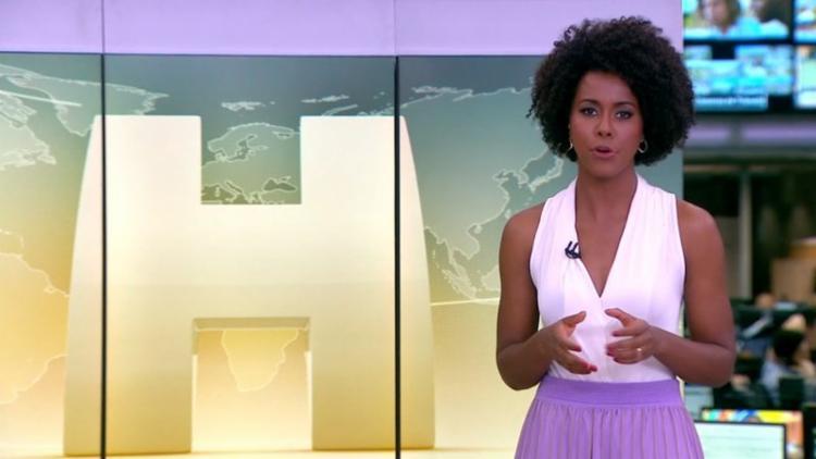 Jornalista disse estar entusiasmada com nova função - Foto: Reprodução | TV Globo