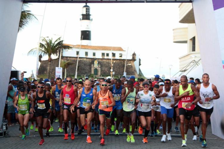 A maratona vai ter 42km e meia maratona, com disputas de 5km, 10km e 21km - Foto: Bruno Concha | Secom