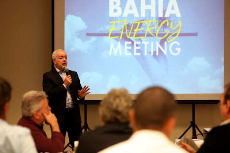 Marcos Cavalcante, secretário de Infraestrutura do estado, na quarta-feira, 25, durante o lançamento da 3ª edição do evento - Foto: Joá Souza l Ag. A TARDE