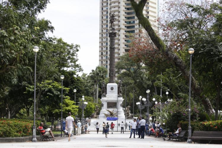 A intervenção contou com investimento de R$ 829 mil - Foto: Raul Spinassé l Ag. A TARDE