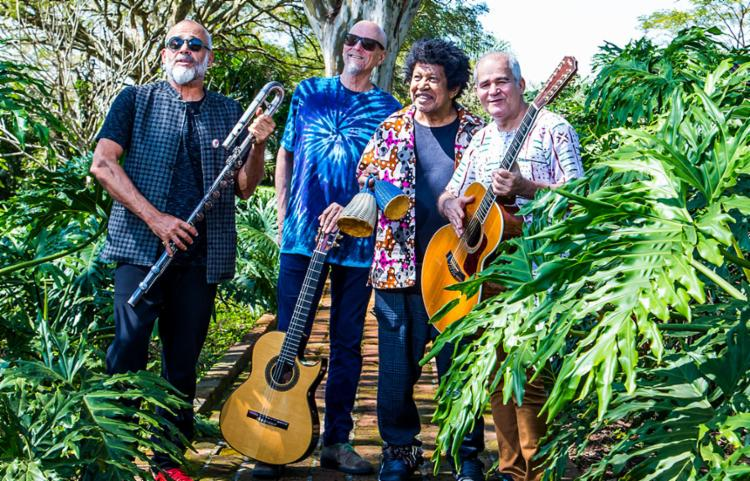 Grupo também ministrará oficinas de instrumentos de sopro, percussão e violões - Foto: Marco Flavio | Divulgação