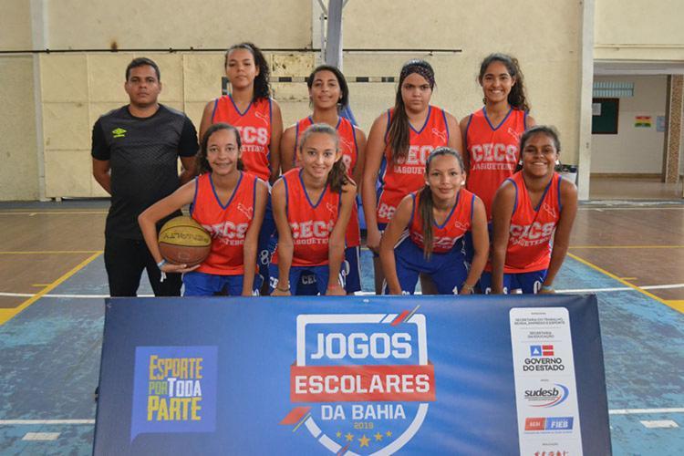 Atletas vão competir nas modalidades de futsal, handebol, vôlei e basquete - Foto: João Ubaldo   Divulgação