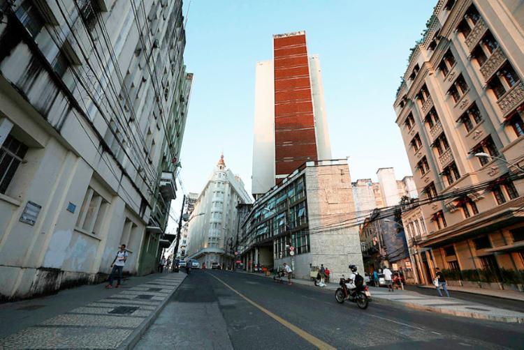 Rua Chile: vetor de investimentos no potência histórico-cultura - Foto: Raul Spinassé | Ag. A TARDE