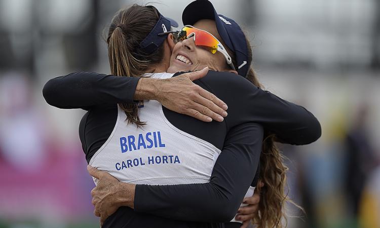 Pelo regulamento, serão duas vagas olímpicas por gênero e participam 16 duplas - Foto: Alexandre Loureiro | COB