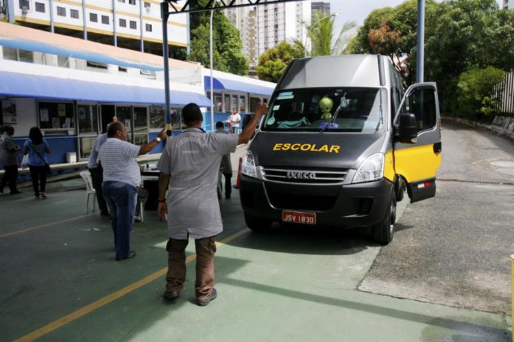 Mais de 900 veículos passarão pelo serviço de ficalização - Foto: Luciano da Matta l Ag. A TARE l 26.2.2018