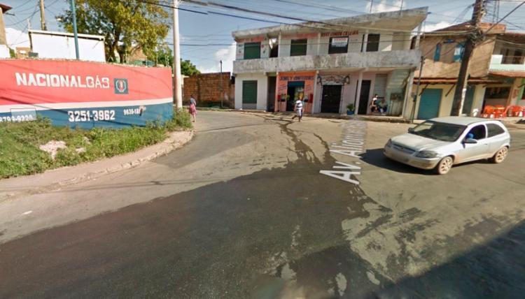 A PM informou que o transporte coletivo está funcionado normalmente na localidade - Foto: Reprodução | Google Street View