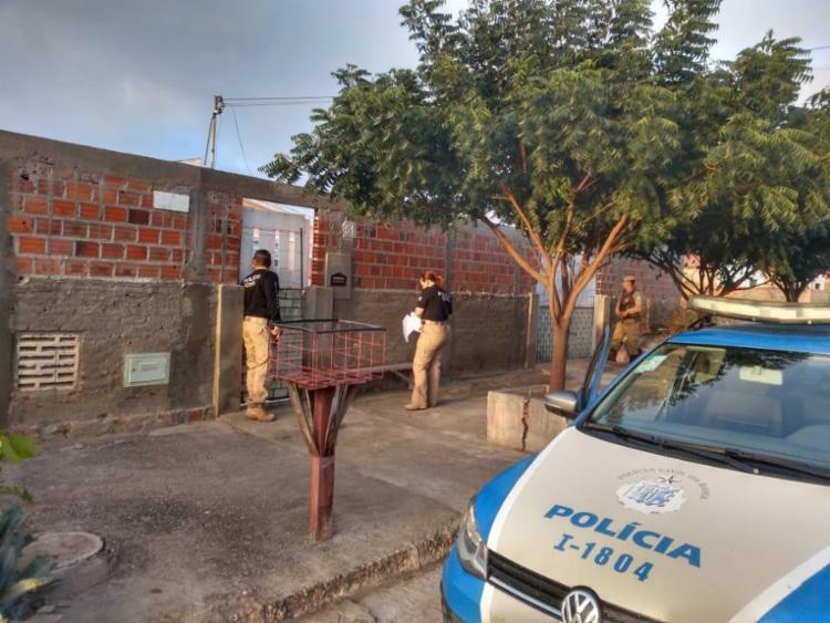 As ações ocorreram nos bairros Tancredo Neves I e III, além de Moxotó - Foto: Divulgação | SSP