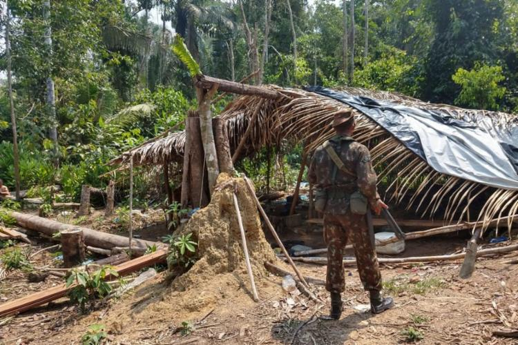 Operação é a ação governamental voltada ao combate a incêndios e crimes ambientais na Amazônia - Foto: Reprodução | Operação Verde Brasil | 17