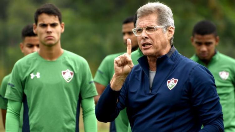 Treinador não citou o desentendimento com Paulo Henrique Ganso, - Foto: Maílson Santana l Fluminense FC