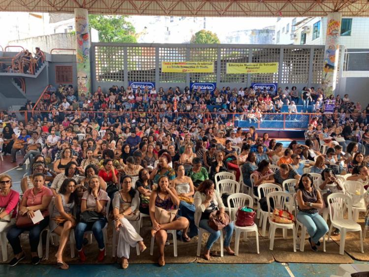 Evento debateu a campanha salarial 2019 e a eleição de gestores da das instituições escolares - Foto: Divulgação | APLB Sindicato