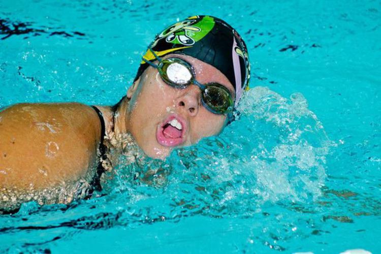 A atleta fez história em Lima com o pentacampeonato dos 50 metros costas da classe S3 - Foto: Divulgação